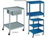 """UTILITY TABLES & CARTS - WITH 3"""" CASTERS"""