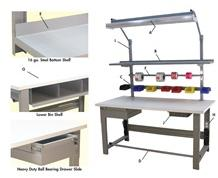 1,000 LB. CAPACITY ROOSEVELT SERIES WORKBENCH OPTIONS