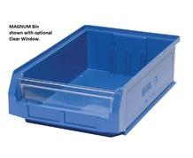 MAGNUM SERIES GIANT HOPPER BIN - CLEAR WINDOWS